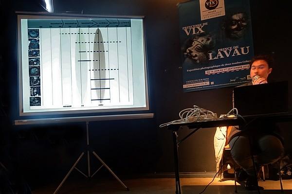 """""""Le prince de Lavau"""" une conférence de Bastien Dupuis, archéologue à l'I.N.R.A.P, proposée par les Amis du Musée du Pays Châtillonnais-Trésor de Vix"""