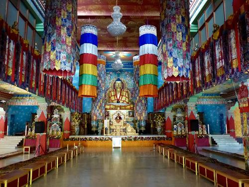 un temple bouddhiste de Bodhgaya
