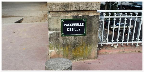 Tour Eiffel et la passerelle Debilly
