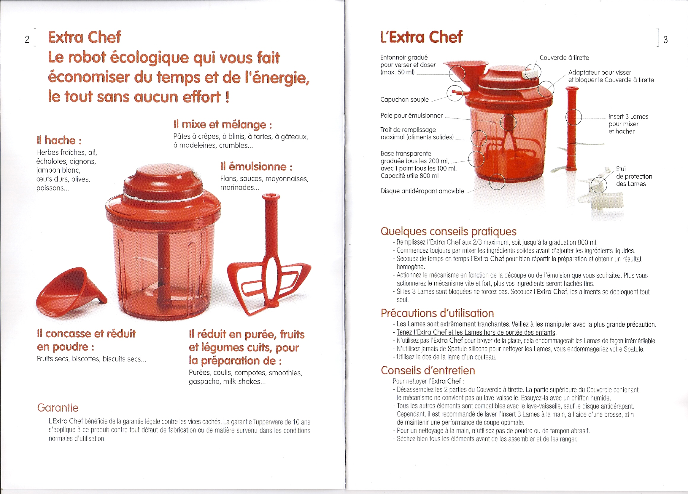 Extra chef by Tupperware · «