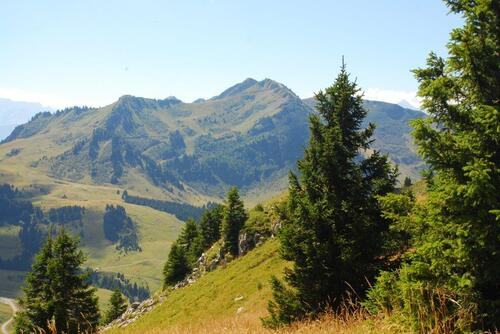 Haut Fleury et alpage du Sommand