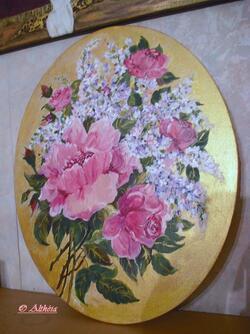 Des roses et du lilas