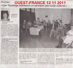 Ma conférence du mercredi 09 novembre 2011