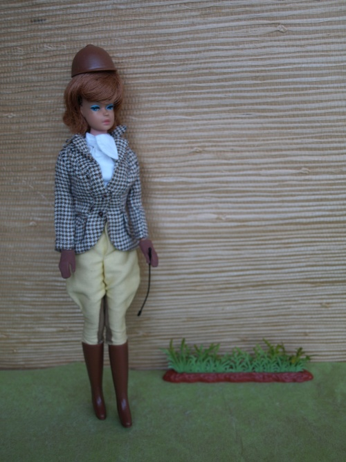 Vintage Barbie : Riding In The Park