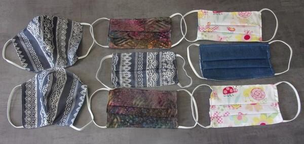 Couture : masques / lingettes / pochettes