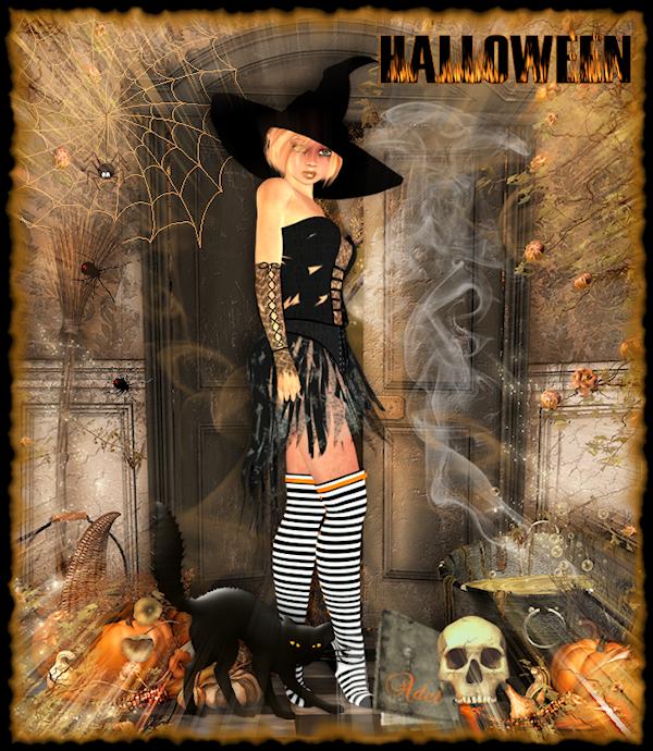 créa pour halloween