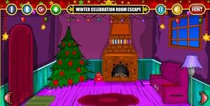 Jouer à Winter celebration room escape