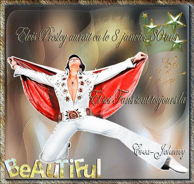 Priscilla Presley a fêté Les 80 ans d'Elvis Presley