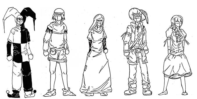 Dessinée Le Dessiner Habits Bande Manga Et Médiévaux La Des Apprendre 4ARL3Sjc5q