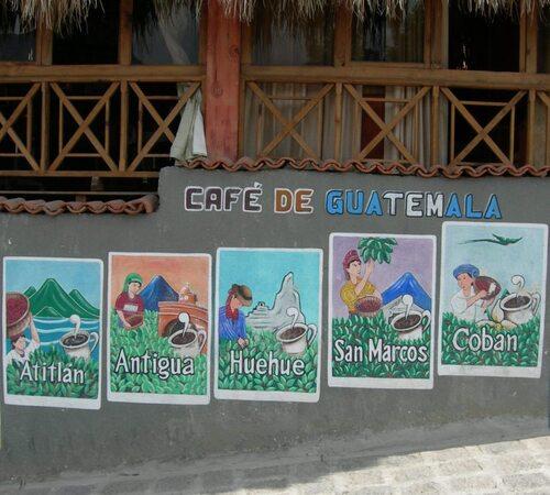 Direction le lac Atitlan