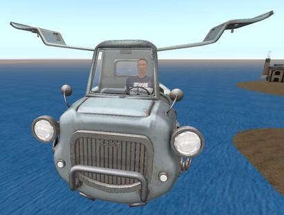 Fourgonnette volante
