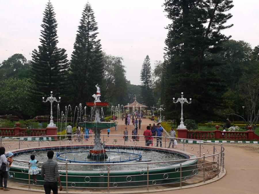 Bangalore - le Lal Bagh - Inde du sud