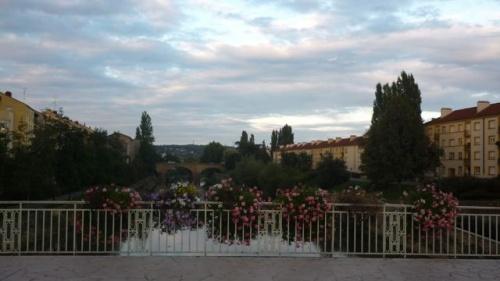 Beau ciel sur Metz ce soir (9 septembre 2010)