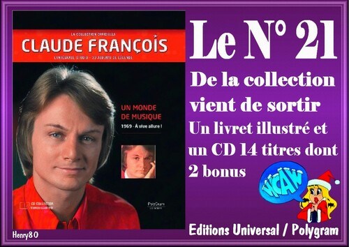 N° 21 DE LA COLLECTION OFFICIELLE