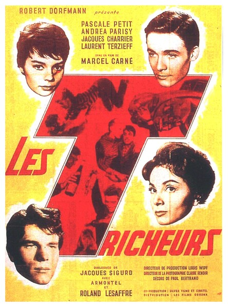 LES TRICHEURS - JEAN PAUL BELMONDO BOX OFFICE 1958