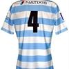 Lionel NALLET: Maillot porté amical RACING 92 saison 2009.10