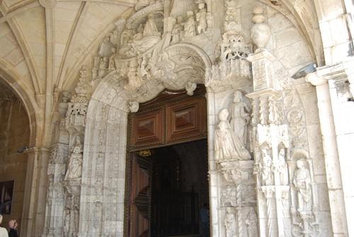 L'art manuélin: monastère de Jéronimes à Lisbonne (photos)