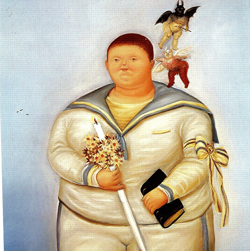 4.Botero / dilater les formes !