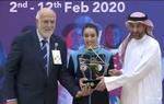 Chettout Kahina récompensée