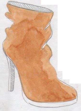 bottes, heels, botines