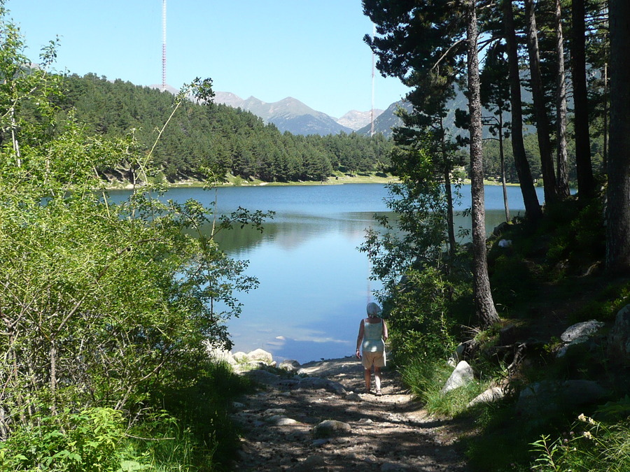 Balade en Andorre, toujours vacances 2008.