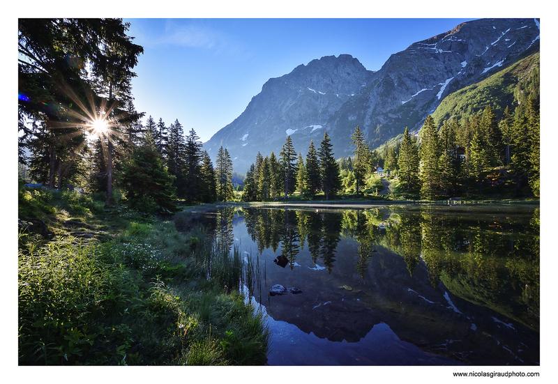 Le plateau des lacs du Taillefer
