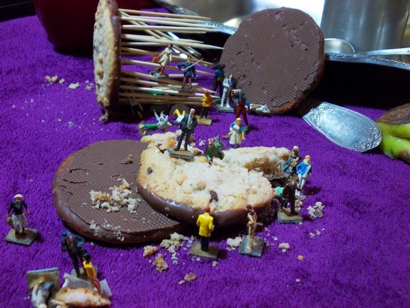 Aujourd'hui : Cosmos 1999 et Tagada pink, encore un temple avec des sucreries et des cookies