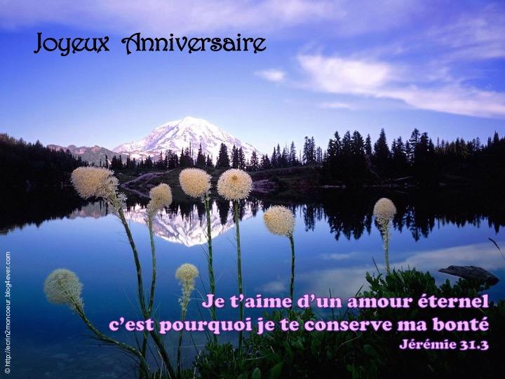 Joyeux Anniversaire   - Jérémie 31.3