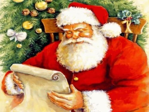Le Père-Noël Attend votre Lettre !