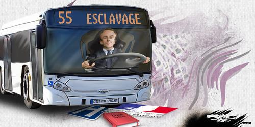 dessin de JERC du vendredi 06 Avril 2018 caricature Emmanuel Macron Les privilégiés En Marche www.facebook.com/jercdessin @dessingraffjerc