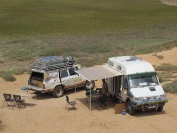 Maroc Dakhla bivouac 2