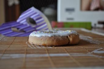 Donuts au four pour mardi gras