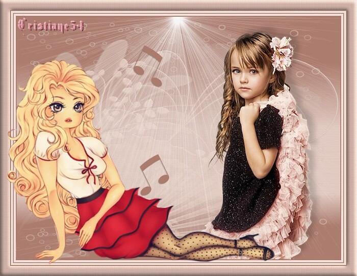 Défi la Musique pour mon amie Resoya ! & Défi nathie 13 or Blondinette