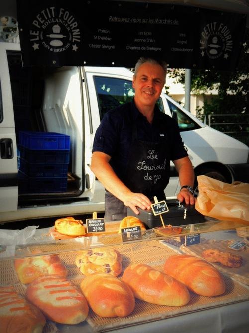 Le marché du samedi matin à Cesson-Sévigné