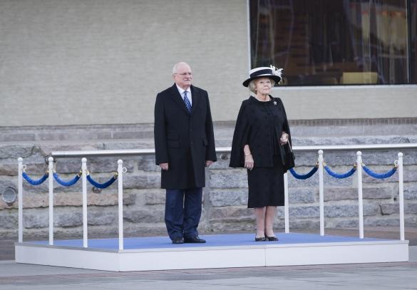 Beatrix à Eindhoven