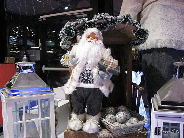 Noël en Alsace : Au supermarché