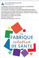 La fabrique créative de santé à St Gilles Croix de Vie
