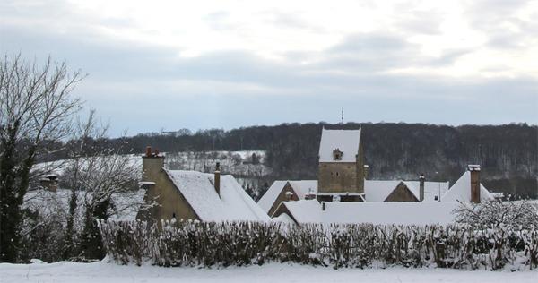 Bellou le Trichard entre neige et dégel