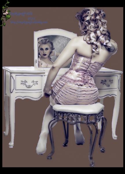 Tube nők fekvő-ülő kép 4