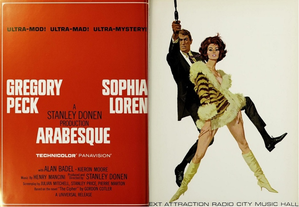 ARABESQUE BOX OFFICE USA 1966
