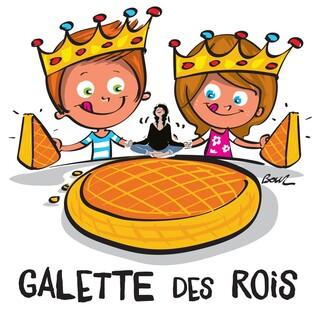 Galette des rois le vendredi 19 janvier.....