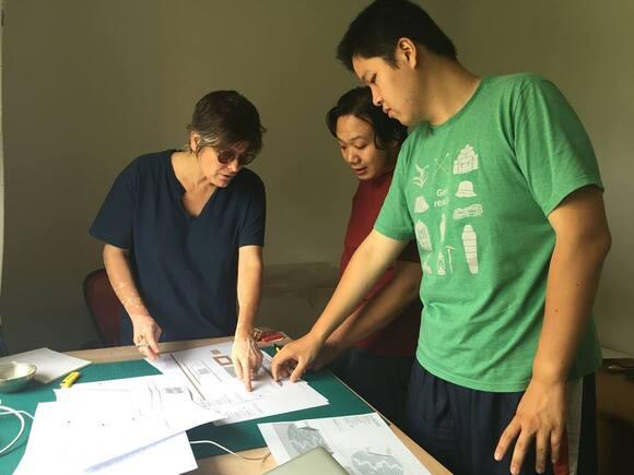 Caroline Tapernoux active pour le musée de Jangsu-Nanjing chine