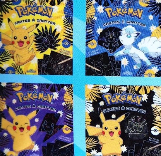"""Pokémon Cartes à gratter Galar """"Jeunesse"""""""
