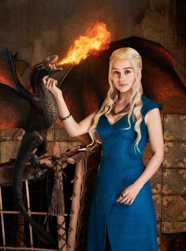 Où acheter la robe bleue de Daenerys ?