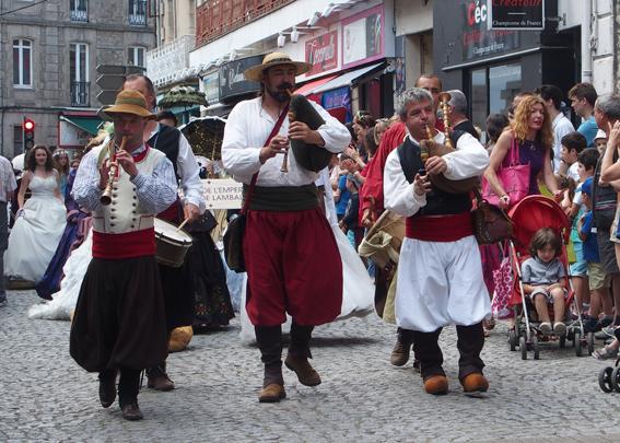 Défilé à Vannes