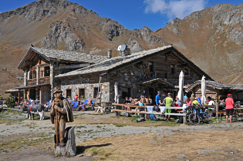 Un air d'Italie : le refuge du mont Fallère (#5)
