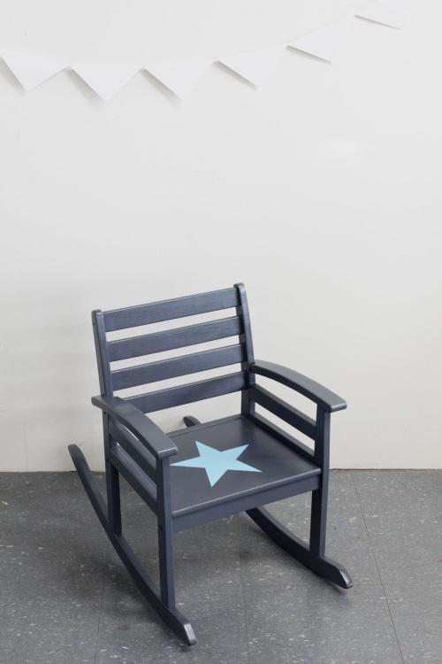 Collection GRIGRIS PLOMB : l'étoile bleu ciel