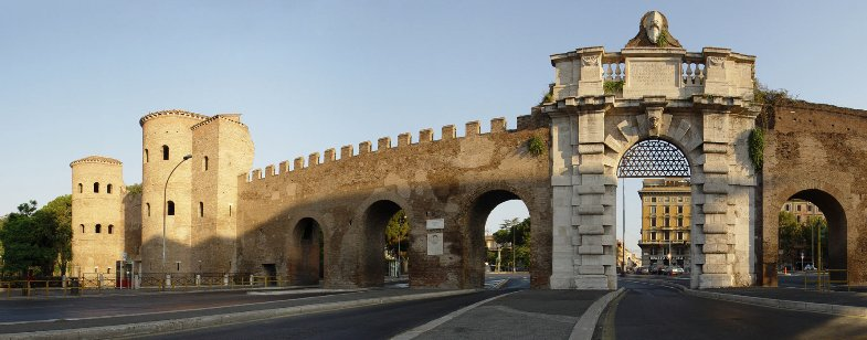 Porte Saint Jean Rome