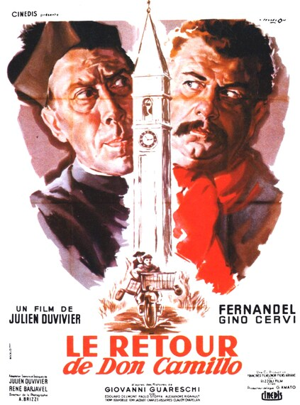 LE RETOUR DE DON CAMILLO - BOX OFFICE FERNANDEL 1953