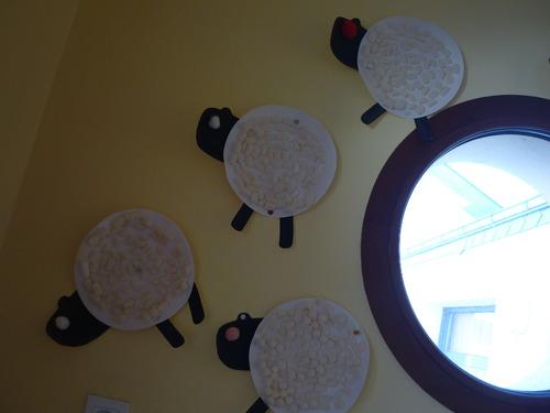 des petits moutons...